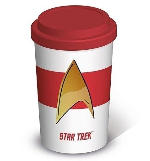 Pyramid International Star Trek Insignia Travel Kupa Bardak Renkli